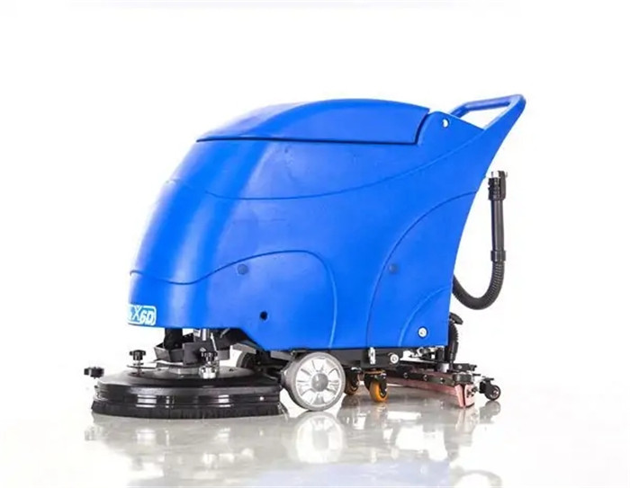 All-electric Manually-steered Floor Scrubber X6D
