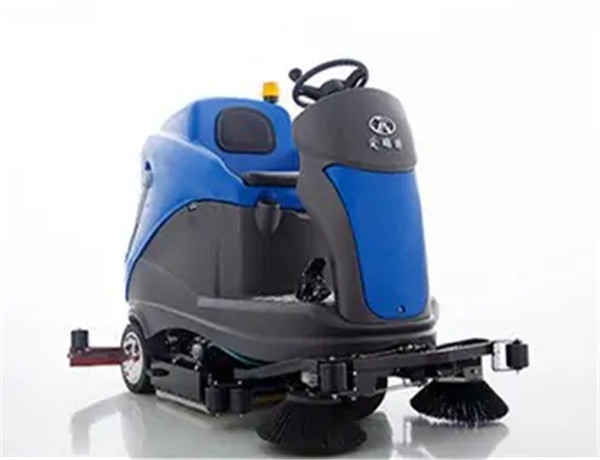 All-electric Manually-steered Floor Scrubber X10