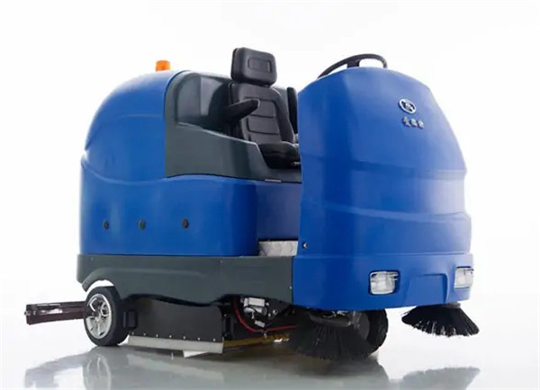 All-electric Manually-steered Scrubber & Sweeper X16